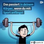 Das passiert in deinem Körper wenn du Sport treibst